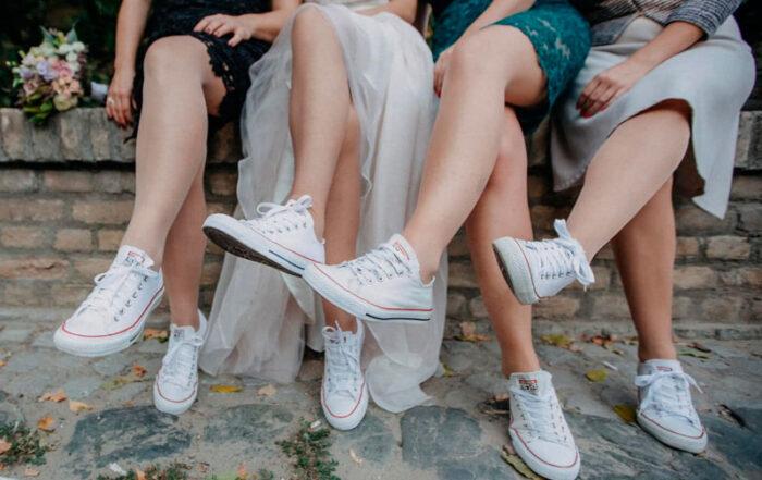 Looks con zapatillas blancas para verano - Moda daddit